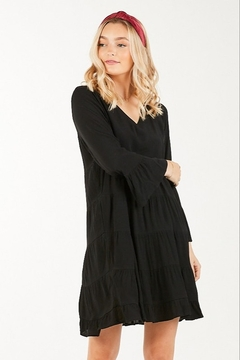 Very J Tiered Babydoll Dress - Product List Image