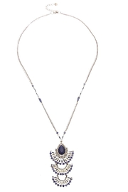 NAKAMOL CHICAGO Tiered Bead Necklace - Product Mini Image