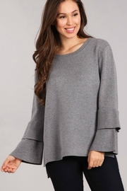 Blvd Tiered Bell Sleeve Sweater - Product Mini Image
