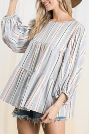Ces Femme  Tiered Boxy Top - Product Mini Image