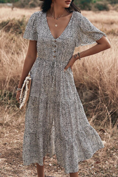 Licosa Tiered Breezy Dress - Product List Image