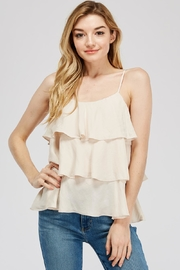Mustard Seed Tiered Cami Top - Product Mini Image
