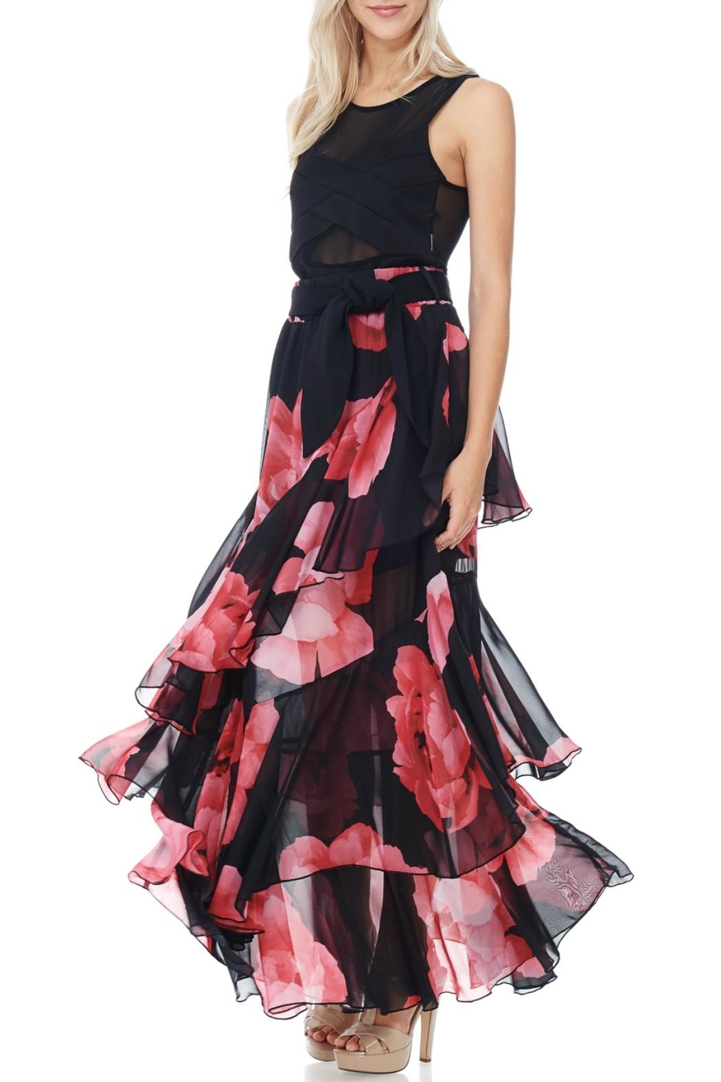 MHGS Tiered Chiffon Skirt - Main Image