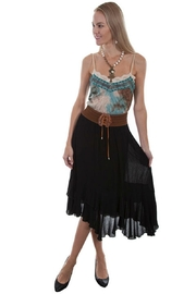 Scully Tiered Corset Skirt - Product Mini Image
