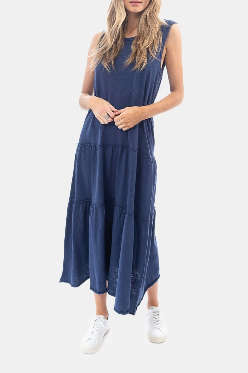 Dylan by True Grit Tiered Crew Dress - Main Image