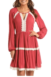 Rock and Roll Tiered Dress - Front full body