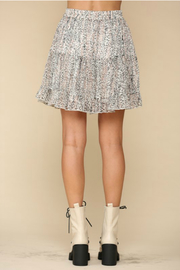 By Together  tiered flirty skirt - Front full body