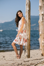 Papillon  Tiered Floral Dress - Product Mini Image