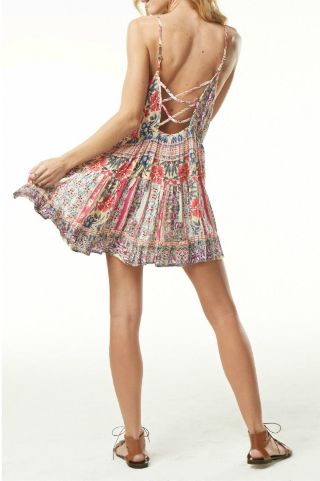 74a176016f6b0 Poe and Arrows Tiered Floral Print Dress from Texas by POE and ...