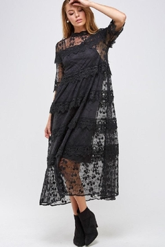 Solution Tiered Lace Dress - Product List Image