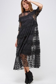 Solution Tiered Lace Dress - Product Mini Image