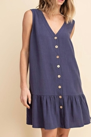 Mittoshop Tiered Linen Dress - Product Mini Image