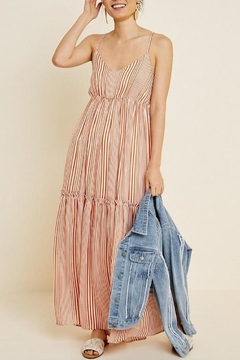 Hayden Los Angeles Tiered Maxi Dress - Product List Image