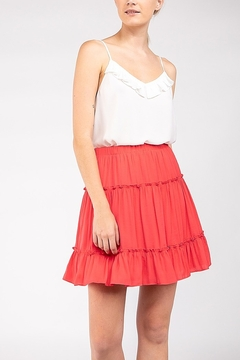 Shoptiques Product: Tiered Mini Skirt