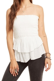 Chaser Tiered Peplum  Top - Product Mini Image