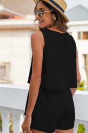 Esley  Tiered Romper - Front full body