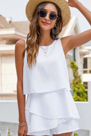 Esley  Tiered Romper - Side cropped