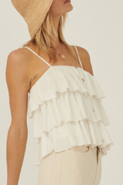 Promesa USA Tiered Ruffle Cami Top - Other
