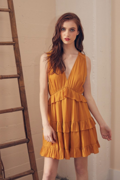 Do & Be Tiered Ruffle Dress - Product List Image