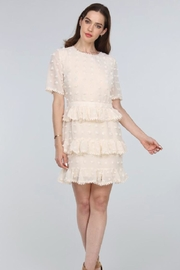 Just Me Tiered Ruffle Mini-Dress - Product Mini Image