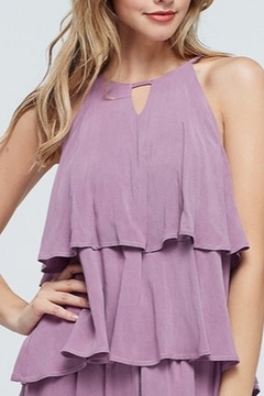 Papermoon Tiered Ruffle Tank - Product List Image