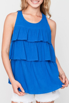 Hayden Los Angeles Tiered Ruffle Tank - Product List Image