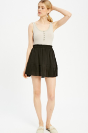 Wishlist Tiered Ruffled Mini - Front cropped