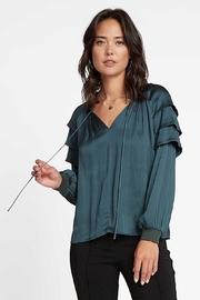 Current Air  Tiered Shoulder Blouse - Product Mini Image