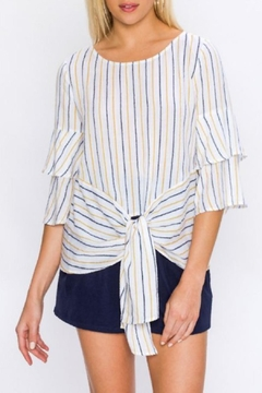 Shoptiques Product: Tiered Sleeve Blouse