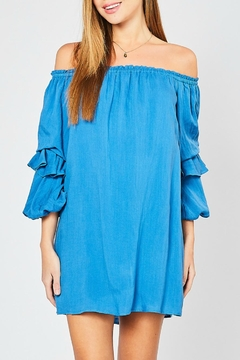 17e0249bc046a ... Entro Tiered Sleeve Ots-Dress - Product List Image