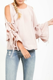 Very J Tiered Sleeve Top - Product Mini Image