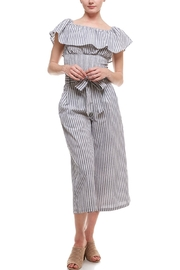 Flying Tomato Tiered Stripe Top - Product Mini Image