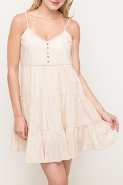 Hem & Thread Tiered Sundress - Front cropped
