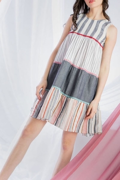 5697e3e192 ... THML Clothing Tiered Swing Dress - Product List Image