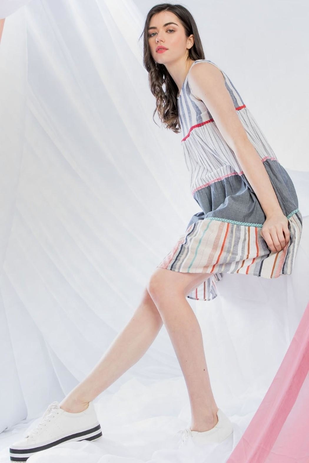 236178f43c THML Clothing Tiered Swing Dress from Montauk by Kailani — Shoptiques