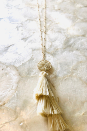Anarchy Street Tiered Tassel Necklace - Product Mini Image