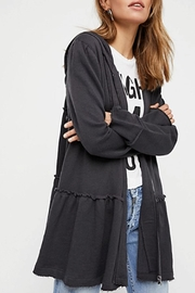 Free People Tiered Trapeze Zip-Up - Product Mini Image