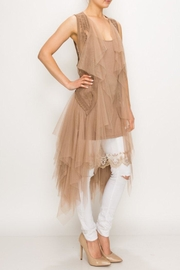 Origami Tiered Tulle Vest - Product Mini Image