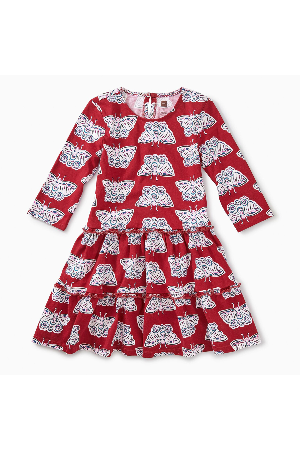 Tea Collection Tiered Winter Dress - Main Image