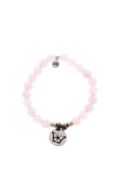 Tiffany Jazelle Rose Quartz Butterfly Bracelet - Product Mini Image