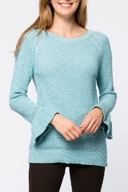 Tyler Boe Tiffany Rufflesleeve Sweater - Product Mini Image