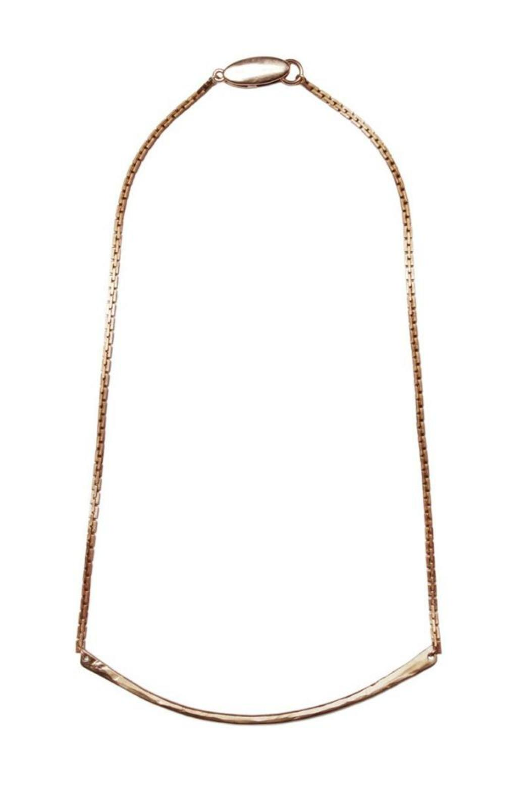 Tiffany Kunz Jewelry Bronze Bar Necklace - Main Image