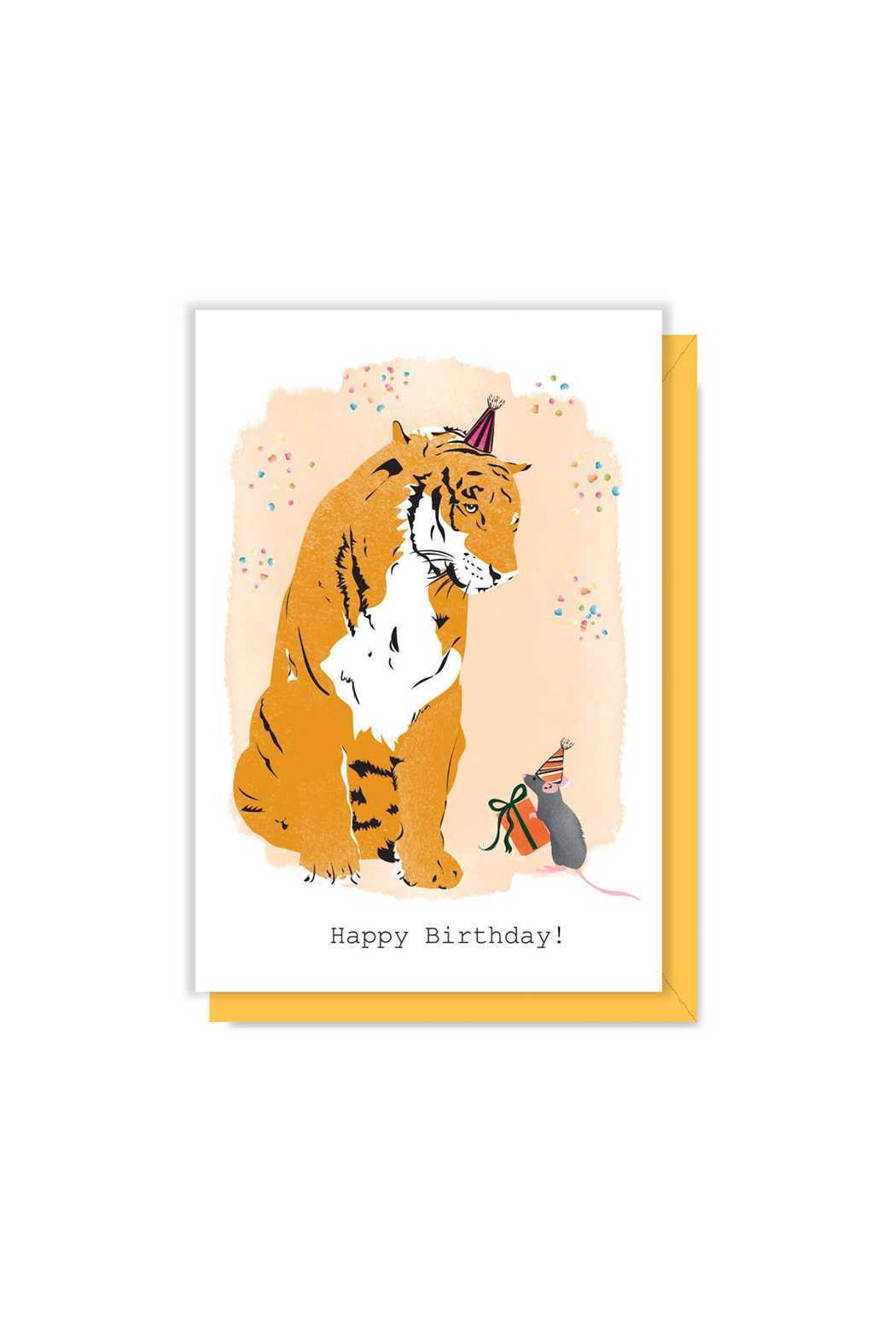 Driscoll Design Tiger Birthday Gift Enclosure - Front Cropped Image