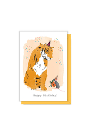 Driscoll Design Tiger Birthday Gift Enclosure - Front cropped