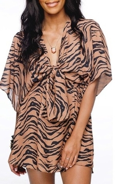 "Shoptiques Product: Tiger ""Connie"" Romper"