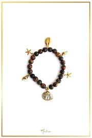 Malia Jewelry Tiger-Eye Charms Bracelet - Product Mini Image