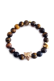 Malia Jewelry Tiger-Eye Jaguar Bracelet - Product Mini Image