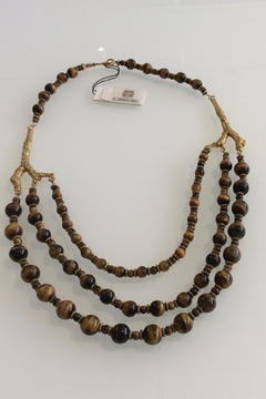 Lorren Bell Tiger Eye Necklace - Product List Image