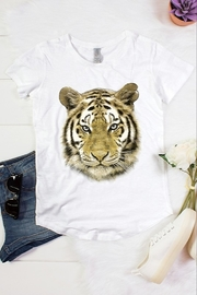 Color Bear Tiger Face Foil Tee - Product Mini Image