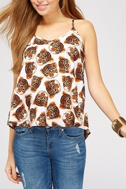 WESTMOON Tiger Face Tank - Front cropped